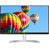LG 27 inch Borderless Full HD Color Calibrated IPS Monitor - 27MK600 (White)