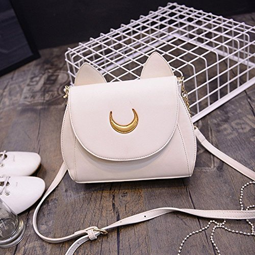 Yofit Cosplay Sailor Moon 20th Tsukino Usagi PU Leather Women Handbag Shoulder Bag (One Size, - One Handbag Leather Shoulder