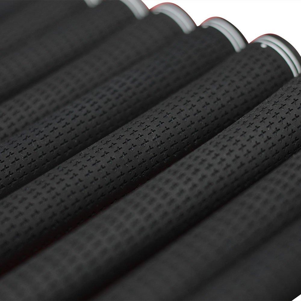 Men's Jumbo Golf Grips Karma Black Grip Set and Grip Kit (13 grips, grip tape, clamp, instructions) by Karma (Image #8)