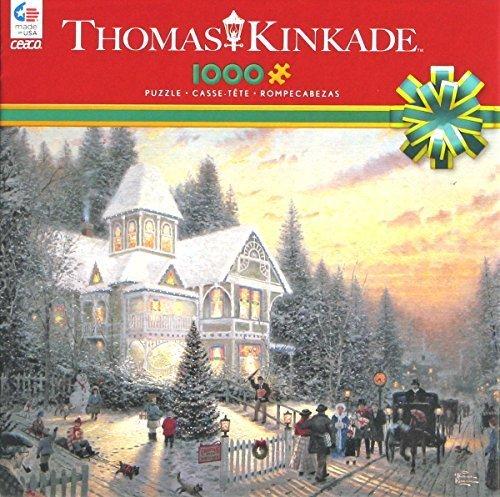 Ceaco Thomas Kinkade Victorian Christmas Puzzle (1000 Piece)