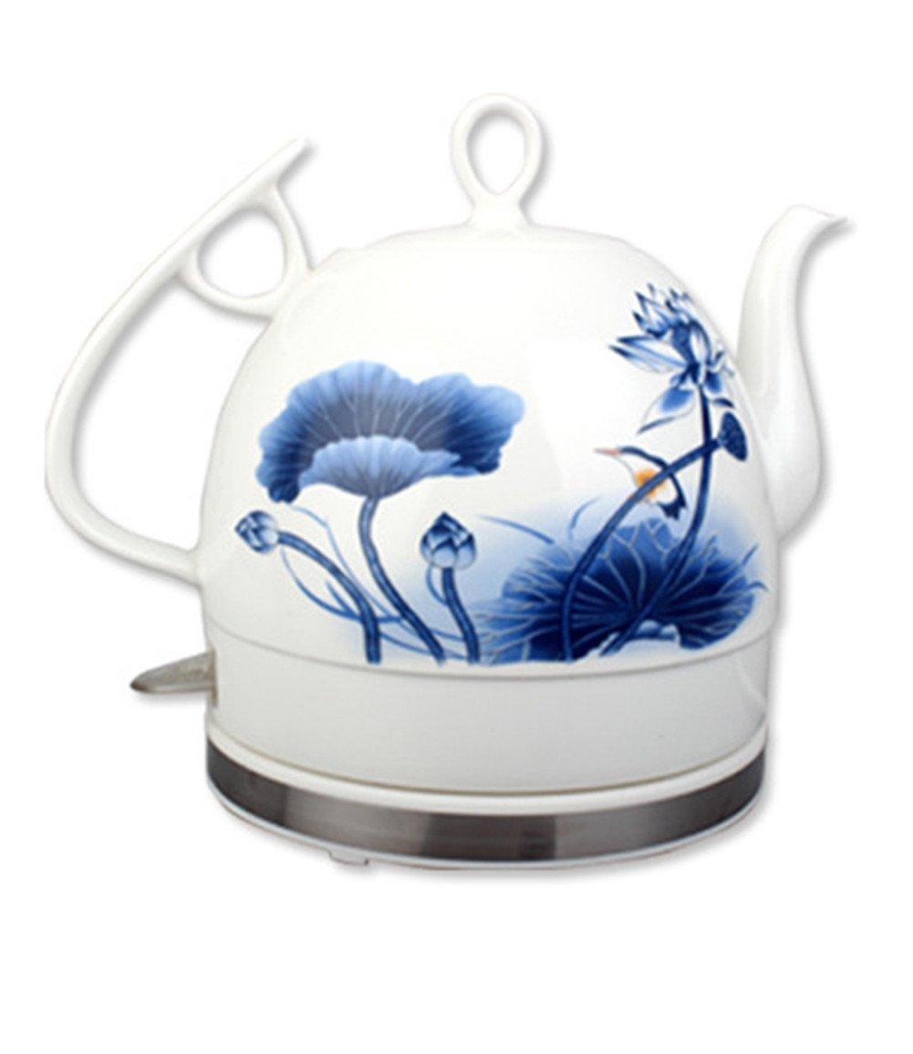 Keramik Wasserkocher Kabelloser Wasserkocher mit Abschaltautomatik und Kochfestem Schutz und 1L Separatem Unterbau Kännchen 1L und 6ebb61