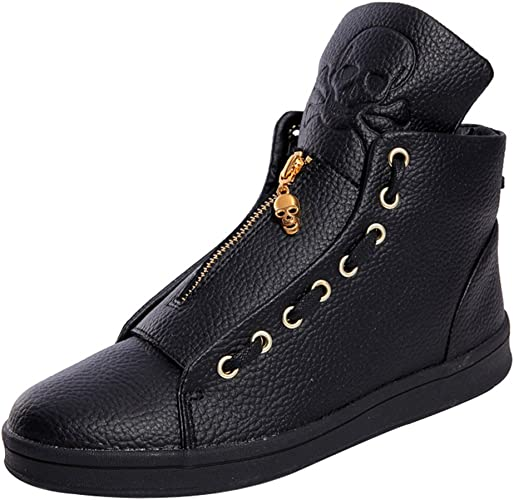 iMaySon(TM Men Casual High Top Sneaker