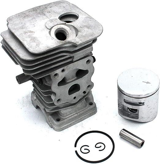 P SeekPro Kit de pist/ón de Cilindro 44mm para Motosierra Husqvarna 450 450E Jonsered CS2250 CS2250S PN 544119802