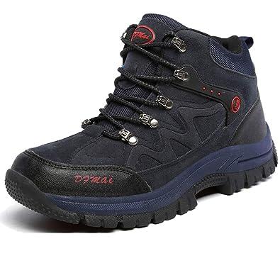 J T Scarpe da Escursionismo Uomo Stivali da Trekking Resistente All Acqua Arrampicata  Sportive All  46ca76050d4