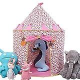 Vpaly-Tente de Jouet et Maison de Jouet pour les enfants pour intérieur et extérieur (rose)