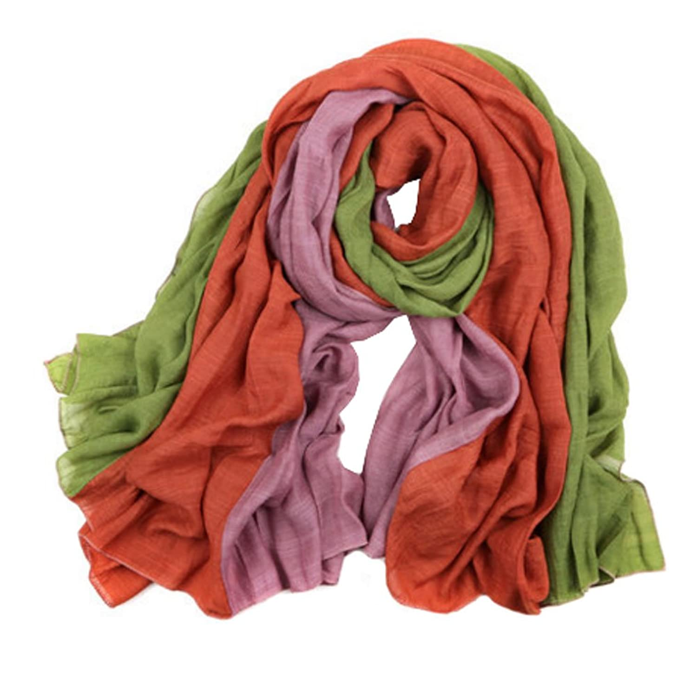 Womens Girls Colorful Fashion Scarf Comfortable Scarves Shawl Wrap, G