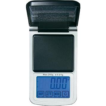 Báscula de bolsillo VOLTCRAFT PS-500TP gama de pesaje (máx.) Lisibil, 500 g: Amazon.es: Electrónica