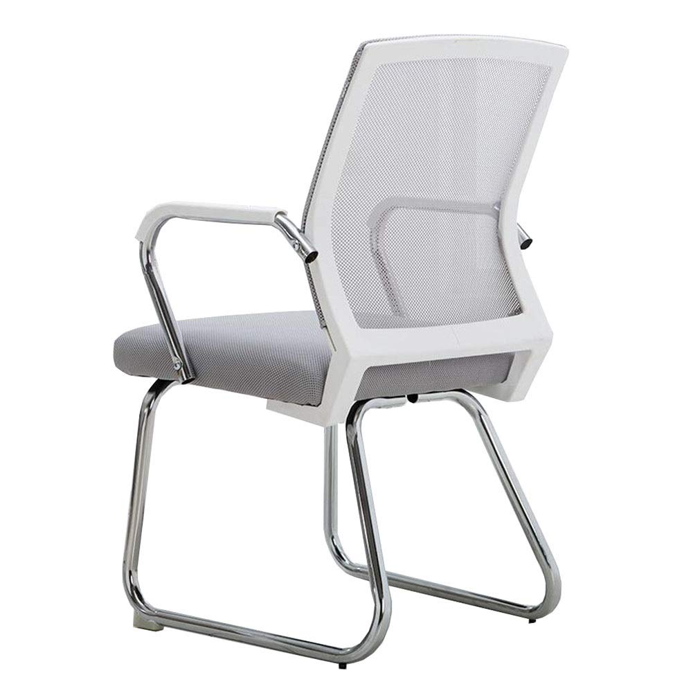 Ergonomic Mesh Office Chair Bow-shaped Computer Desk Seat with Lumbar Support