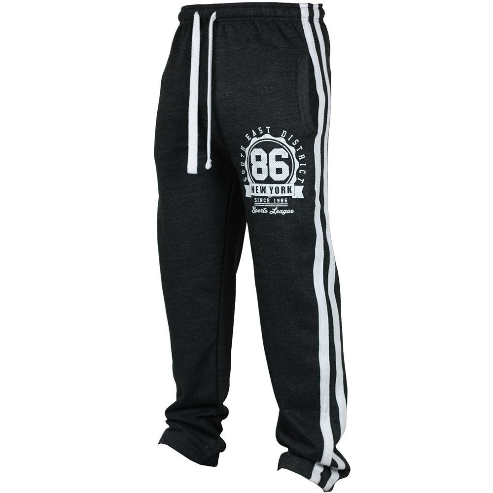 3c08259e Amazon.com: Men Sports Pants, 2019 Fashion Men's Sport Jogging Fitness  Casual Loose Sweatpants Drawstring Pant Running Gym Trousers: Clothing