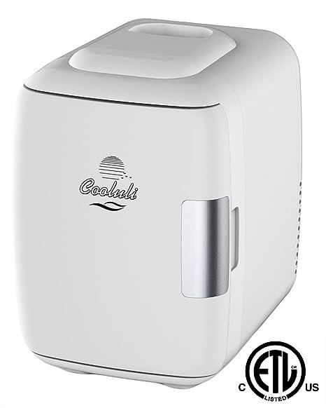 Merveilleux Cooluli Mini Fridge Electric Cooler And Warmer (4 Liter/6 Can): AC
