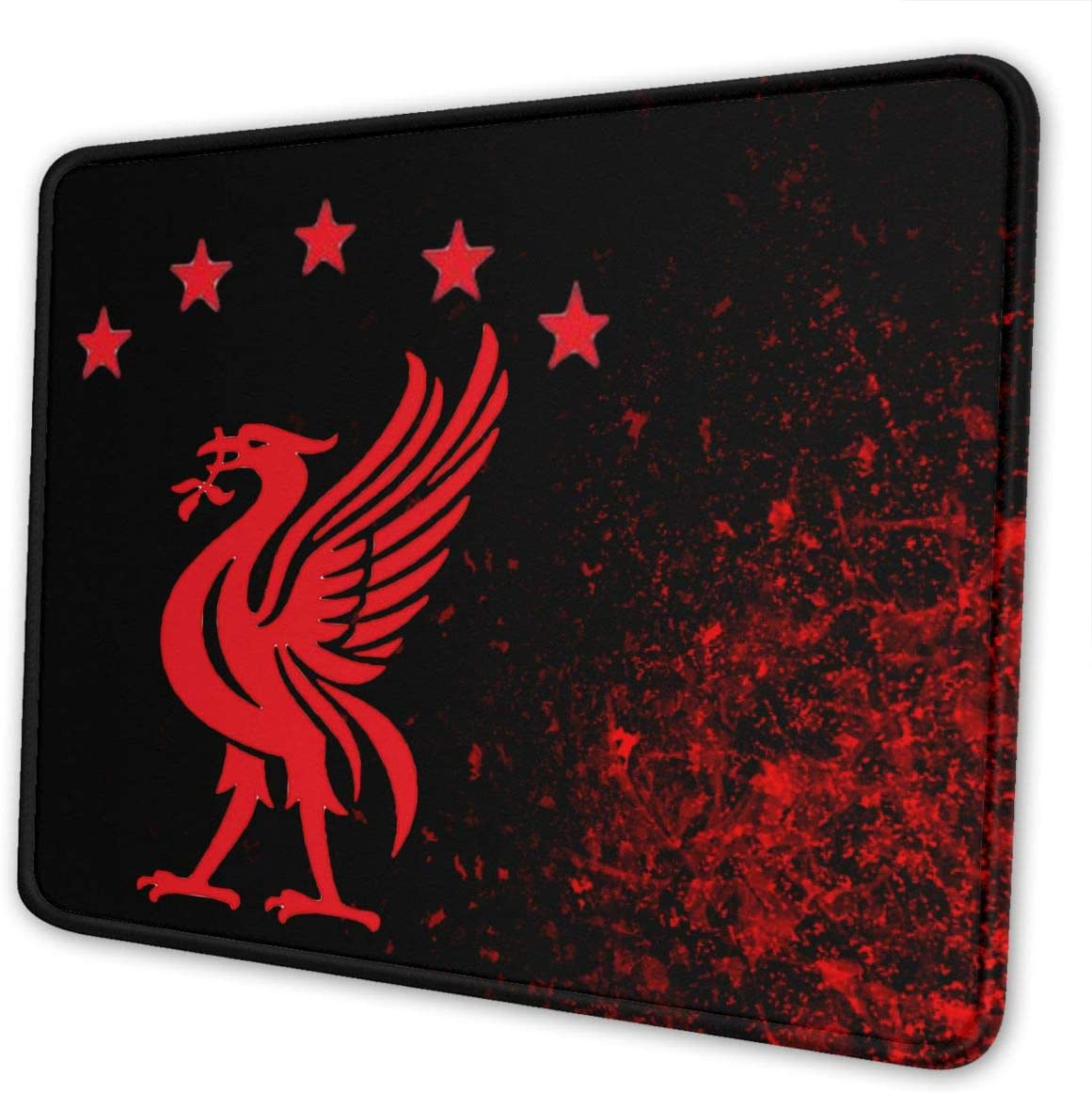 Liverpool F.C. Football Club Logo Mouse Pad for Laptops Office Computer Mouse Pad Personalized Design Non Slip Rubber Mouse Mat
