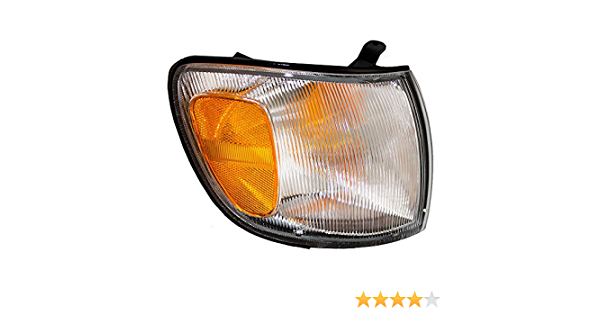 Brock Replacement Passengers Park Signal Front Marker Light Lamp Lens Compatible with 95-99 Maxima 26134-40U10