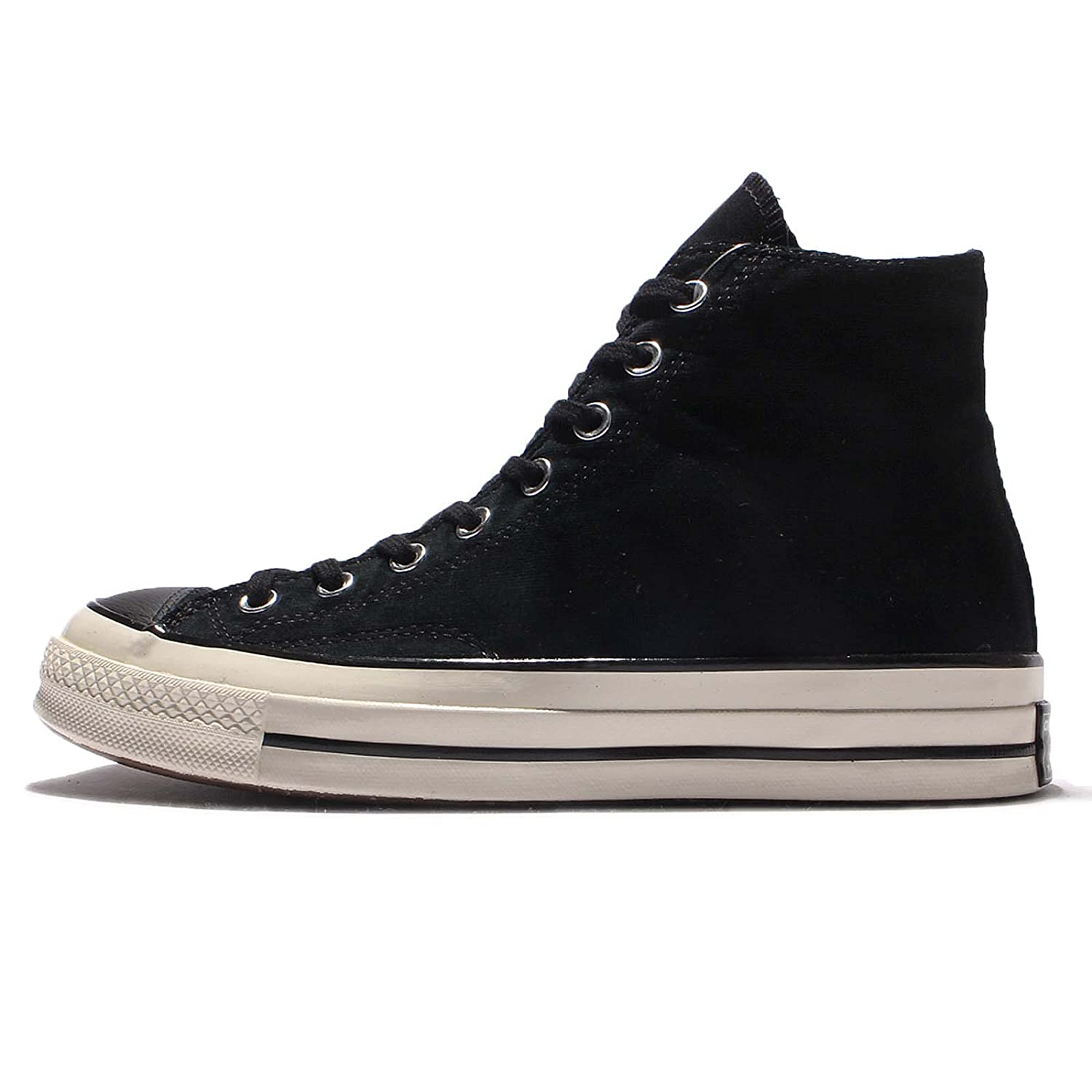 Converse Men's Chuck Taylor All Star 70 High Top Sneakers B01MCRSXC3 8 D(M) US|BLACK/GREY WHITE