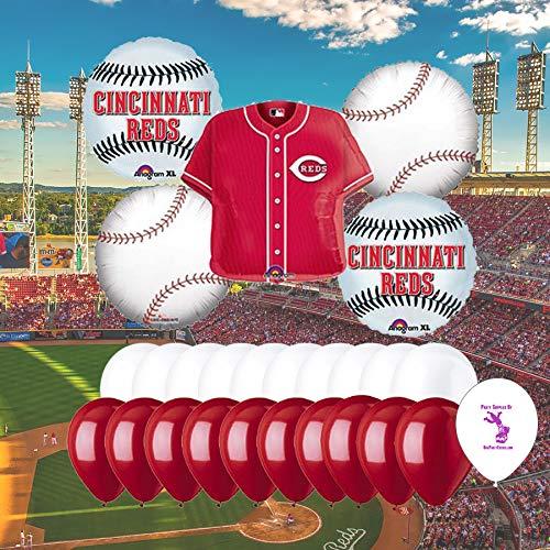 Anagram Cincinnati Reds Baseball Balloon Set