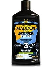 Maddox Detail 10303 Allround Polish - Pulidor de un Solo Paso, Elimina Marcas Superficiales, abrillanta y Protege al Pintura del Coche. 500ml