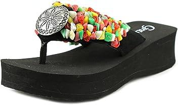 57c6206bad7380 Grazie Women s Spangled Wedge Sandals