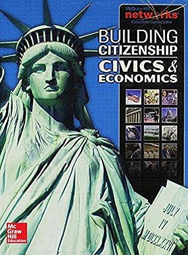 building citizenship civics and economics student edition civics rh amazon com Civics Today Test Answers Civics Today Test Answers