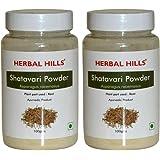 Herbal Hills Shatavari Powder - 100g Each (Pack of 2) Bottle