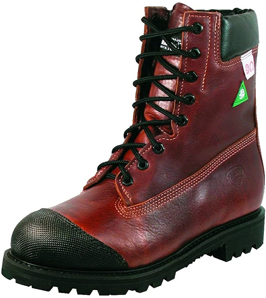 Amerikanische Schuhe - Arbeitsschuhe BO-5085-EE (Fett - Fuß) - (Fett Mann - Leder - braun bf503a