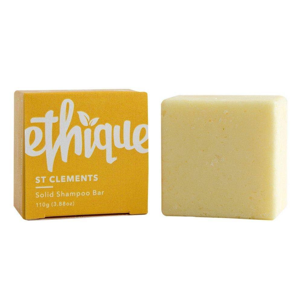 Ethique Eco-Friendly Solid Shampoo Bar, St Clements 3.88 oz