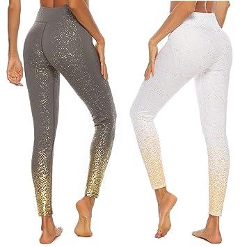 BYOGAZT @ Pantalones de Yoga Entrenamiento para Mujeres ...
