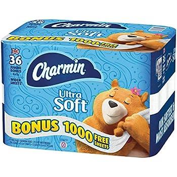 Amazon Com Charmin Ultra Soft Bathroom Tissue 30 Jumbo