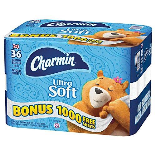 (Charmin Ultra Soft Bathroom Tissue 30 Jumbo Rolls = 83 Regular Rolls)