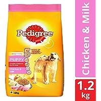 Pedigree Puppy Dry Dog Food, Chicken & Milk – 1.2 kg Pack