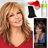 Statement Piece by Raquel Welch Wigs, 2oz Travel Size Wig Shampoo, Wig Galaxy Hair Loss Booklet, & Wide Tooth Comb. (Bundle - 4 Items)
