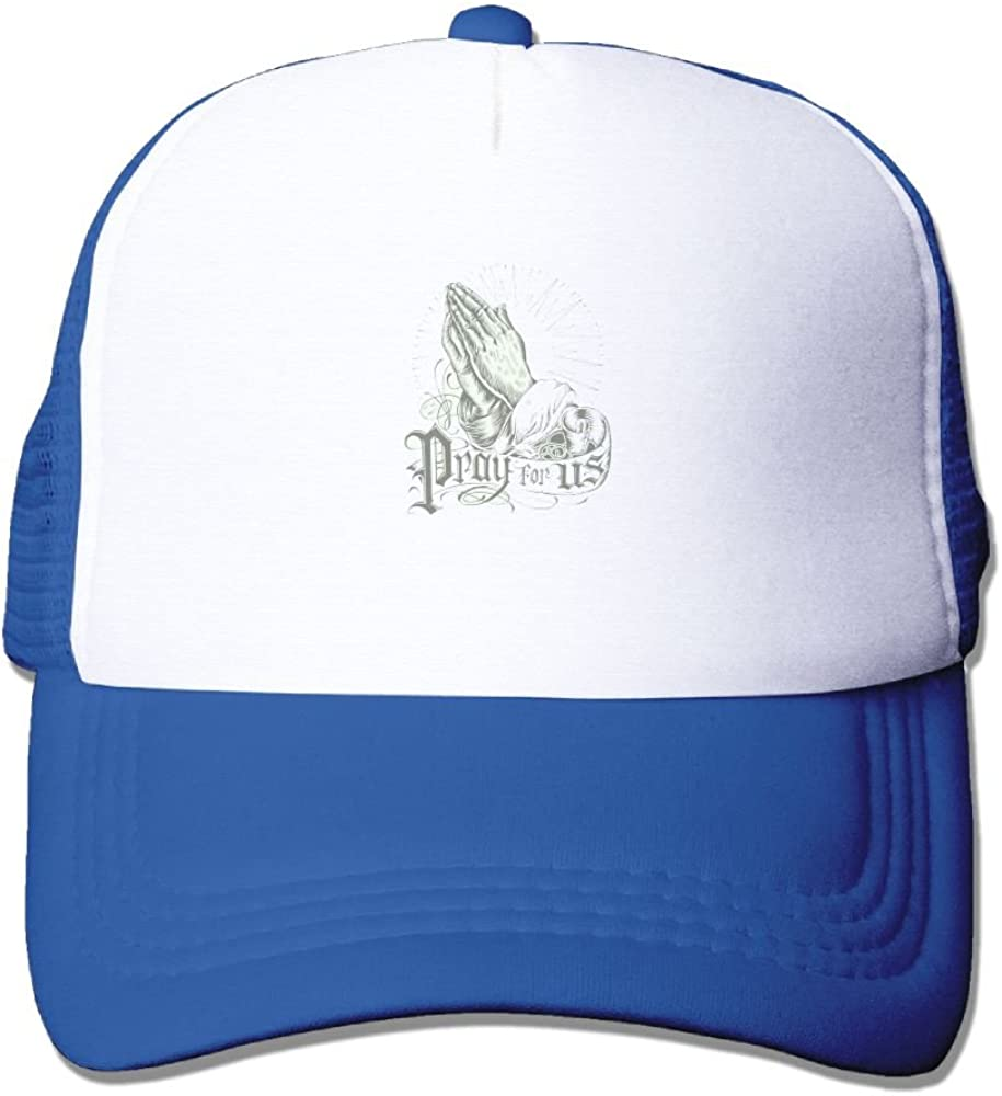 Praying Hands Rosary Comfortable Baseball Caps For Unisex Designs Great For Outdoor Hiking Visor Hats