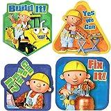 Bob the Builder T-Shirt Emblems - 4 Count