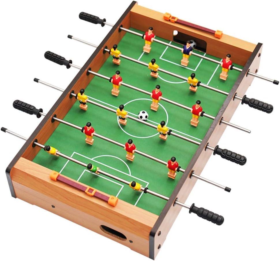 Pkjskh Juego de futbolín Mini Juego de futbolín Pequeño futbolín ...