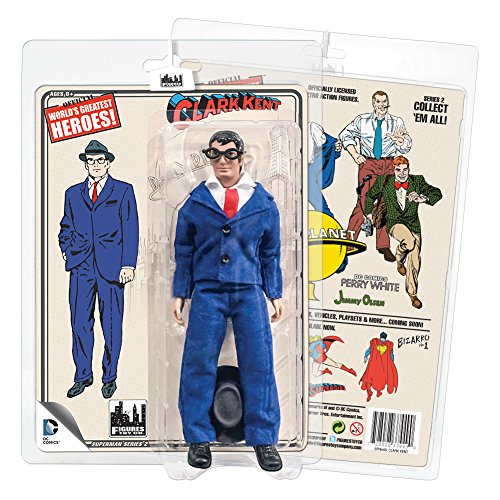 Superman Retro 8 Inch Action Figures Series 2: Clark Kent