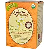 Organic Acacia Senegal Tummy Fibre, 25 Travel Packets, 2.5 g Each by Heather's Tummy Care