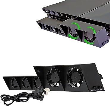 Ventilador de refrigeración PS4, Ventilador Externo USB ...