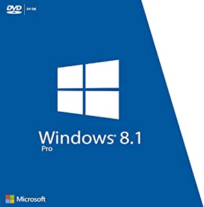 Windows 8.1 Professional OEM 64-Bit DVD | English | Full Product | Windows 8.1 Pro