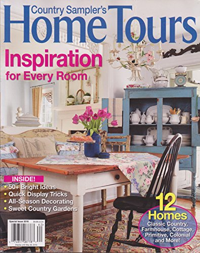 Sampler The Of Home - Country Sampler's Home Tours Magazine Special Issue 2016