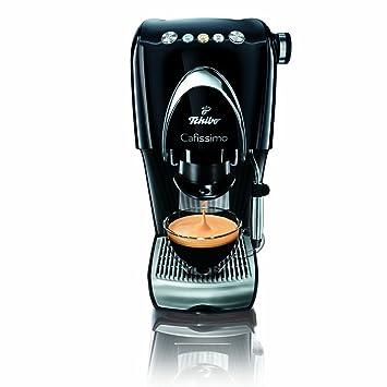 Tchibo Cafissimo Classic - Cafetera de espresso (para crema y filtro, función de espuma