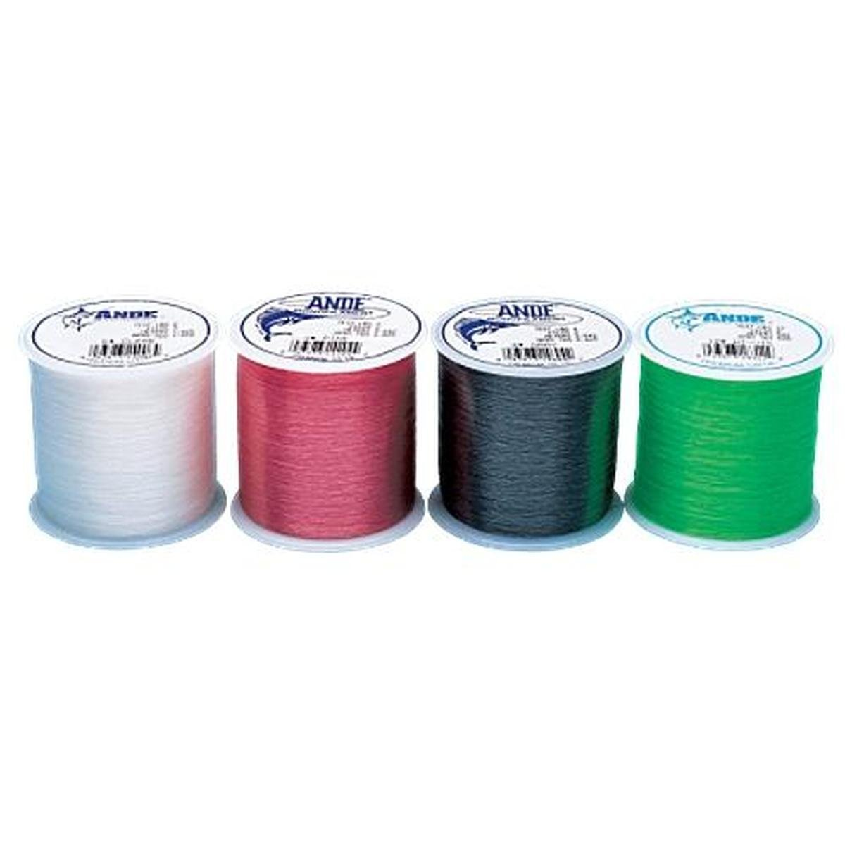 Ande Monofilament Line (Clear, 12 -Pounds test, 1/4# spool) South Bend PC-1/4-12