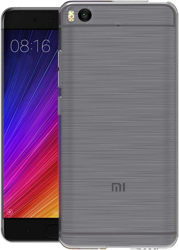 AICEK Funda Xiaomi Mi 5S, Xiaomi Mi 5S Funda Transparente Gel Silicona Xiaomi Mi 5S Premium Carcasa para Xiaomi Mi 5S: Amazon.es: Electrónica