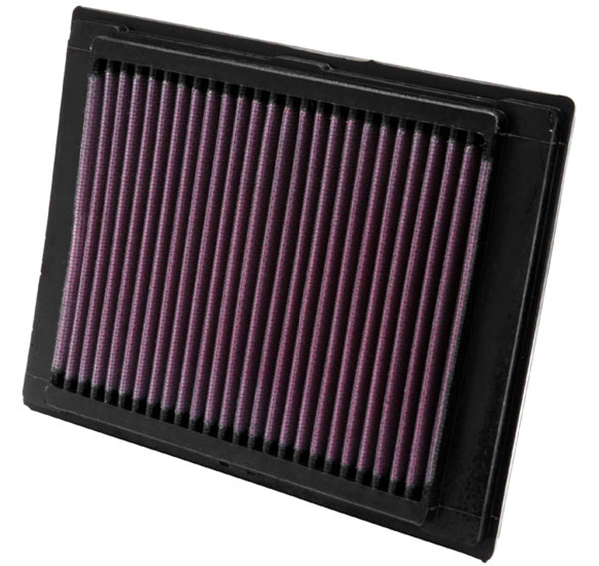 Lavabile e Riutilizzabile K/&N 33-2853 Filtri Aria Sostitutivi Auto