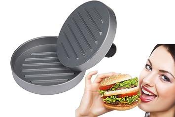 Molde para hacer hamburguesas caseras Prensador de hamburguesas Prensa Mini: Amazon.es: Hogar