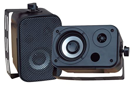 Review Dual Waterproof Outdoor Speaker