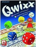 Nürnberger Spielkarten NSV - 4032 - QWIXX INTERNATIONAL - Englisch/Italienisch/Deutsch - Würfelspiel
