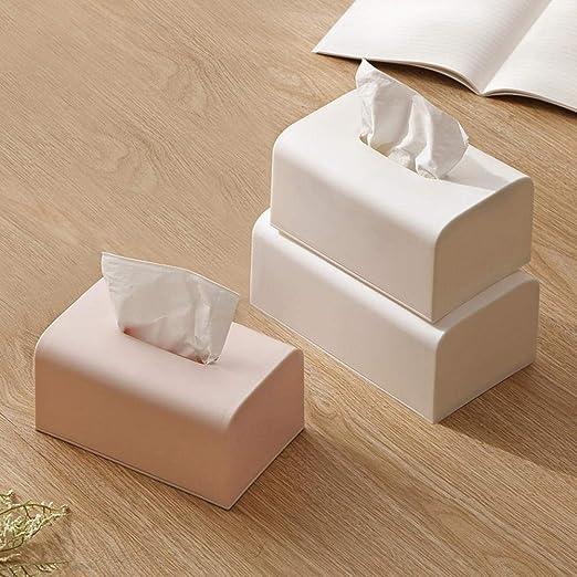 DZZDGS 2 bandejas Creativas japonesas Caja de pañuelos Desmontable ...