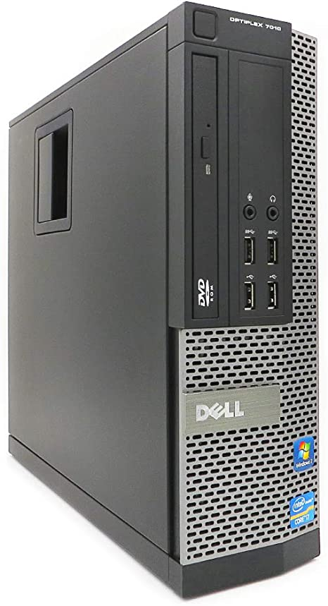 DELL OptiPlex 7010 SFF Ordenador Intel Core i5-3470, 16GB RAM, Disco SSD 480GB, Lector DVD, WiFi b/g/n PCIe, Windows 10 Pro. Negro Renovado. Teclado y Ratón.: Amazon.es: Informática