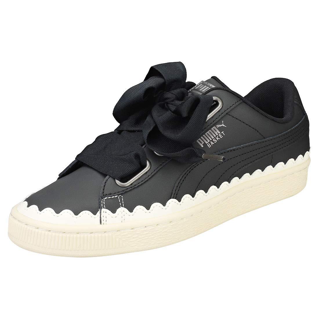 Buy Puma Women's Black Leather Sneakers