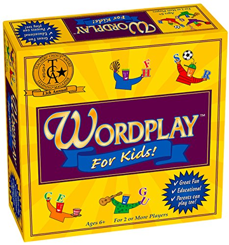 Wordplay for Kids Board Game (Top 10 Best Selling Games Of All Time)