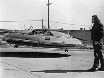 amazon avrocar アメリカ空軍us army flying saucer 1959年 1950 s