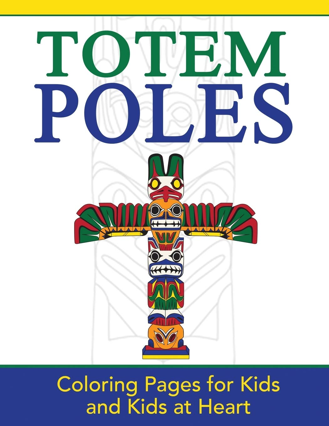 Totem Pole Coloring Pages to Print | ColoringMe.com | 1360x1051